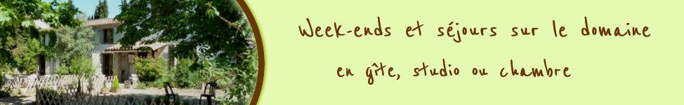 Week-ends et séjours touristiques en gîte, chambre ou studio